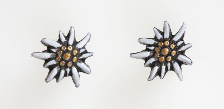 boucle d'oreille edelweiss